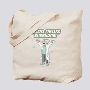 Futurama Good News Tote Bag