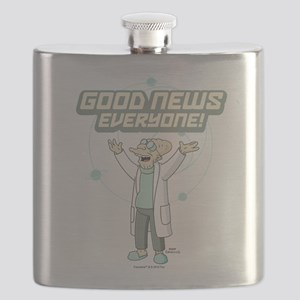 Futurama Good News Flask