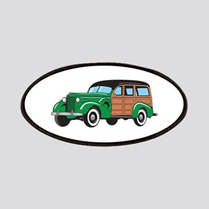 CLASSIC WOODY CAR Patches