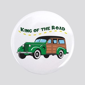 """KING OF THE ROAD 3.5"""" Button"""
