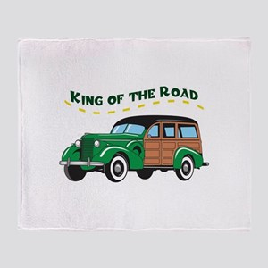KING OF THE ROAD Throw Blanket