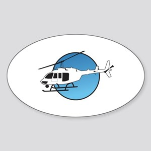 HELICOPTER AND SKY Sticker
