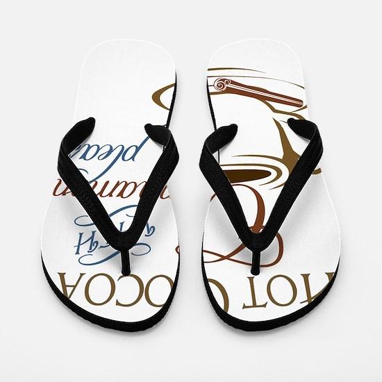 Cocoa with Cinnamon Flip Flops