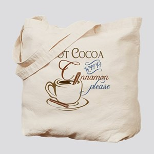 Cocoa with Cinnamon Tote Bag