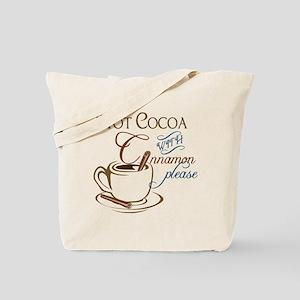 Cocoa with Cinnamon Tote Bag