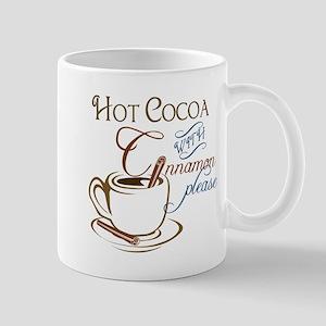 Cocoa with Cinnamon Mug