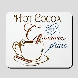 Cocoa with Cinnamon Mousepad