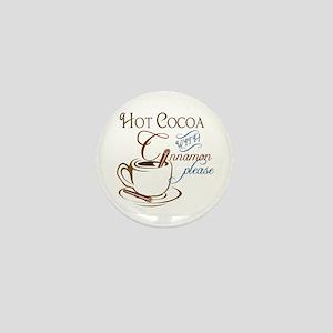 Cocoa with Cinnamon Mini Button