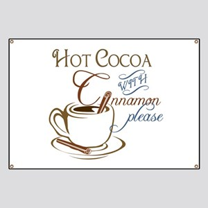 Cocoa with Cinnamon Banner
