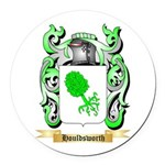 Houldsworth Round Car Magnet