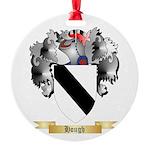 Hough Round Ornament