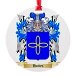 Hottes Round Ornament