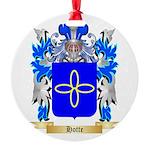 Hotte Round Ornament