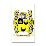 Hotchkin Rectangle Car Magnet