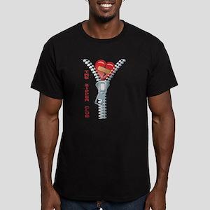 The Zipper Club Men's Fitted T-Shirt (dark)