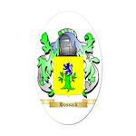 Hossack Oval Car Magnet