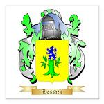 Hossack Square Car Magnet 3