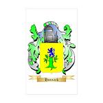 Hossack Sticker (Rectangle 50 pk)