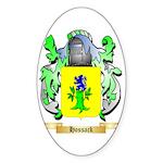 Hossack Sticker (Oval 50 pk)