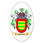 Hoskyn Sticker (Oval 50 pk)