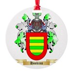 Hoskins Round Ornament