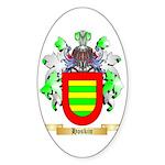 Hoskin Sticker (Oval 10 pk)