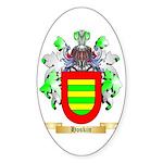 Hoskin Sticker (Oval 50 pk)