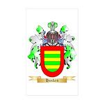 Hosken Sticker (Rectangle 50 pk)