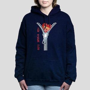 The Zipper Club Women's Hooded Sweatshirt