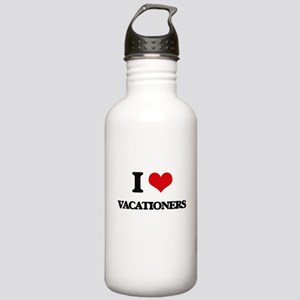 I love Vacationers Stainless Water Bottle 1.0L