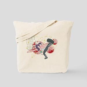 Futurama Leela Fight Tote Bag