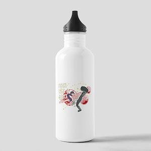Futurama Leela Fight Stainless Water Bottle 1.0L