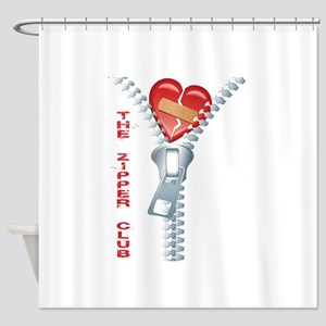 The Zipper Club Shower Curtain