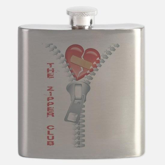 The Zipper Club Flask