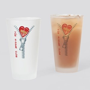 The Zipper Club Drinking Glass