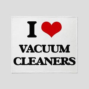 I love Vacuum Cleaners Throw Blanket