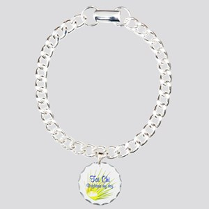 Tai Chi Brightens Charm Bracelet, One Charm