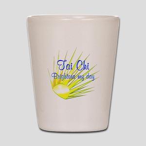 Tai Chi Brightens Shot Glass