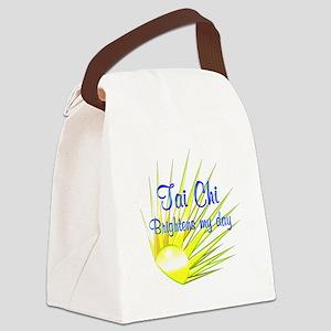 Tai Chi Brightens Canvas Lunch Bag