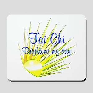 Tai Chi Brightens Mousepad