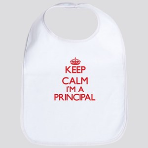 Keep calm I'm a Principal Bib
