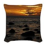Maui Sunset Woven Throw Pillow