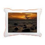 Maui Sunset Rectangular Canvas Pillow