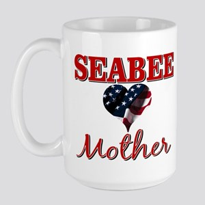 SEABEE Mother Large Mug