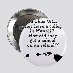 """A College on an Island 2.25"""" Button"""