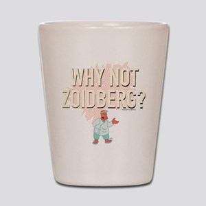 Futurama Why Not Zoidberg Shot Glass