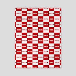 Croatia - Hrvatska Checkered Twin Duvet