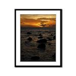 Maui Sunset Framed Panel Print