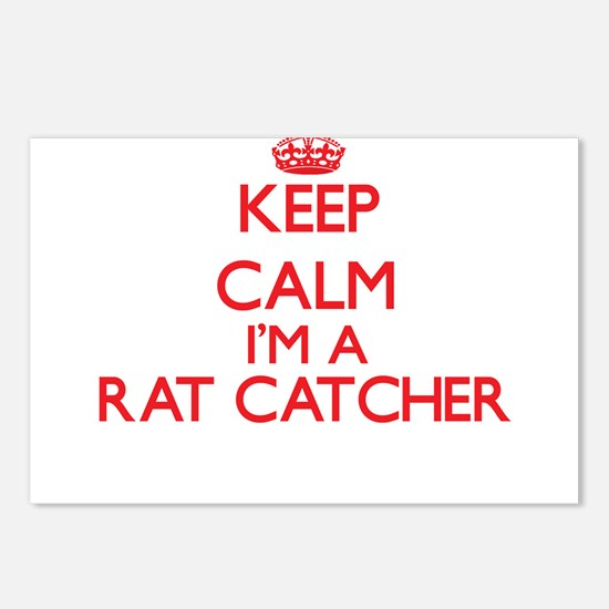 Keep calm I'm a Rat Catch Postcards (Package of 8)