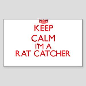 Keep calm I'm a Rat Catcher Sticker